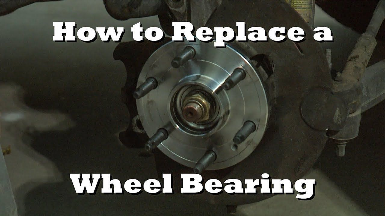 How To Remove And Replace A Front Wheel Bearing Action Camera Mount Wheel Auto Repair