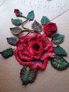 Ирландское кружево #irishcrochetmotifs 2 Irish Crochet. Motifs. Freeform ideas. Цветочные мотивы ирландского кружева, фриформ и идеи. в Pinterest #irishcrochetmotifs