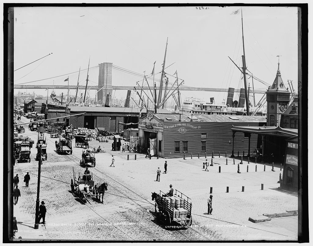 South Street Seaport. Early 1900's