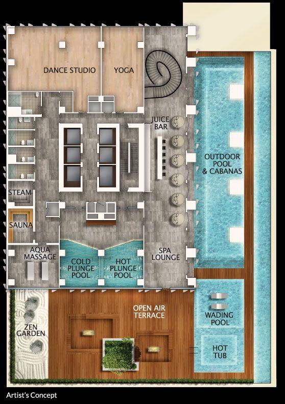 No 1 Yorkville Amenities 4th Floor Clubhouse Design Store Design Interior Restaurant Exterior Design