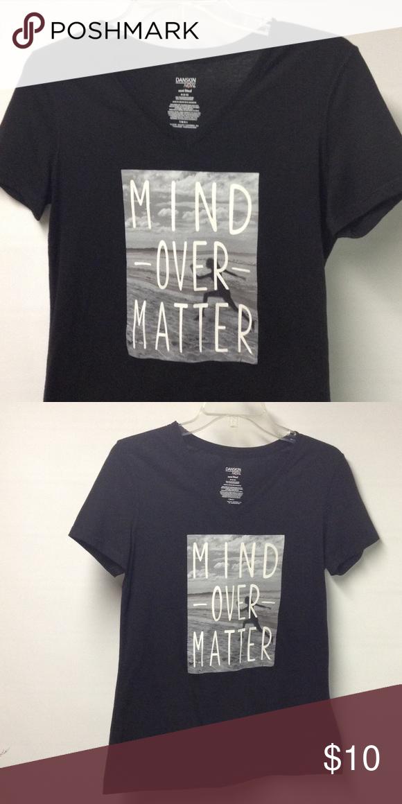 Semi fitted Danskin t-shirt Mind Over Matter Danskin Now Tops Tees - Short Sleeve