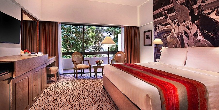 Accommodation In Singapore Deluxe Mayfair Room Hotels Room
