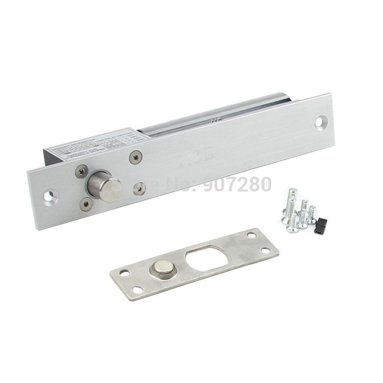 New Type Dc12v 2 Wires Fail Safe Electric Dropbolt Lock With Timer For Door Entry Access Control Access Control Safe Electricity Entry Doors