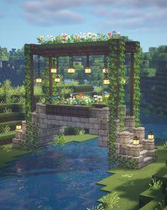 Minecraft Fairy Aesthetic Builds 🍄🌿✨ Fairytail Cottagecore Fairycore Fairy Tale 🌸 Kelpie The Fox