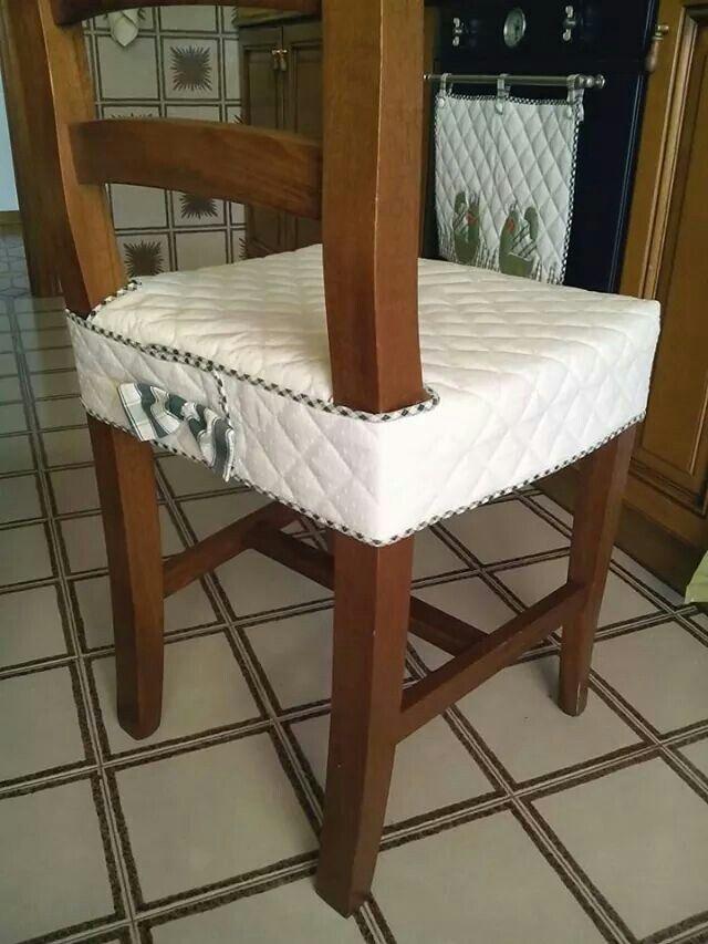 Funda para silla fundas para sillas pinterest fundas for Fundas para sillas comedor