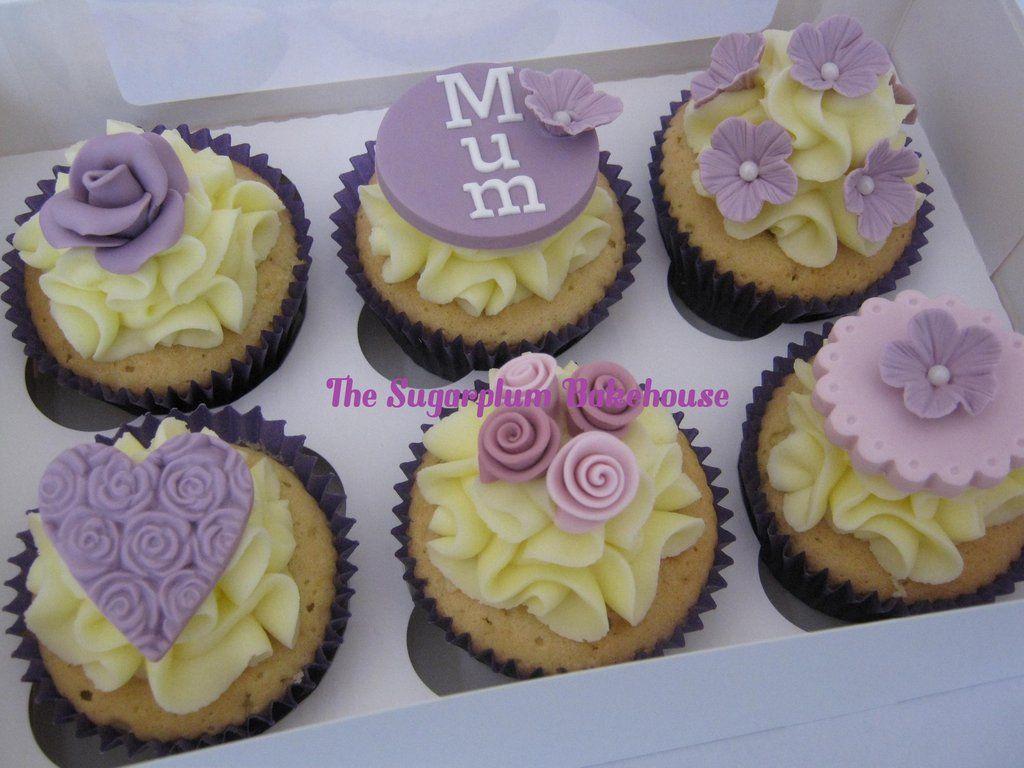 Pretty Mum Cupcakes