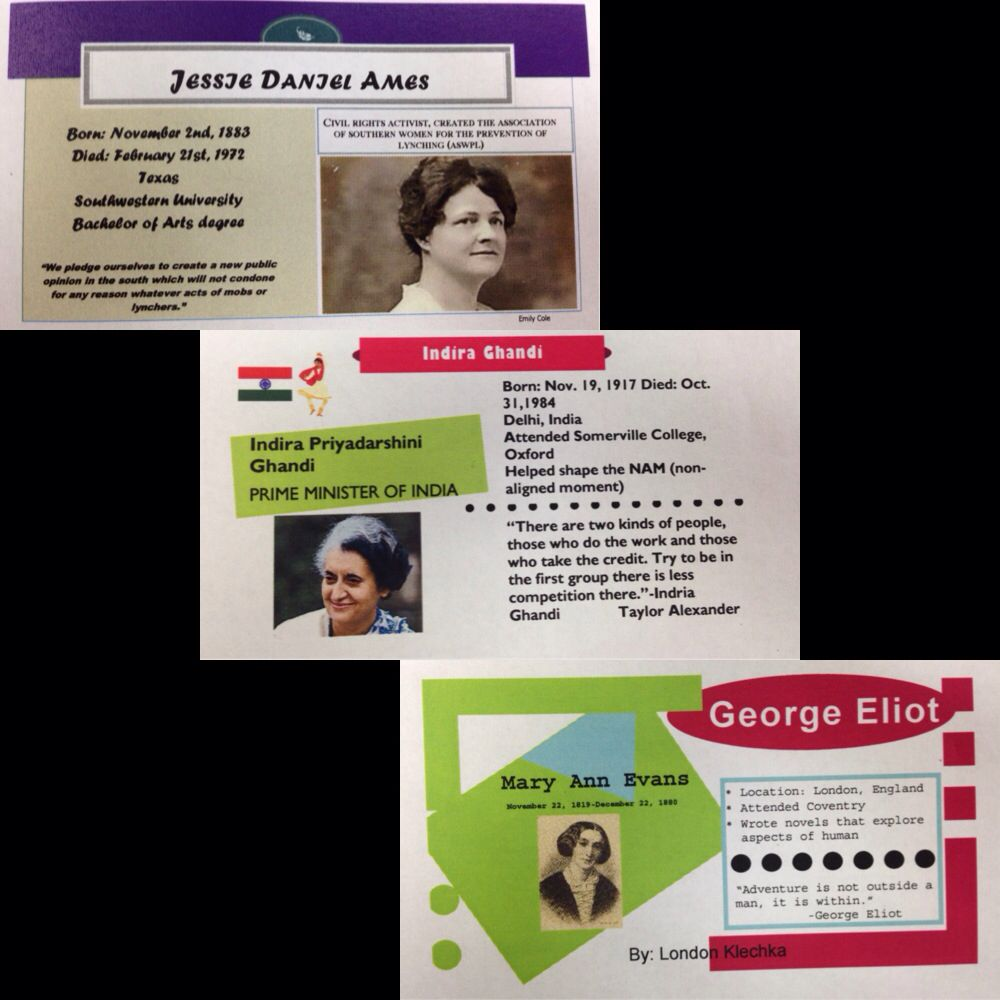 Biography business card project have students research the lives of biography business card project have students research the lives of important historical figures our reheart Gallery