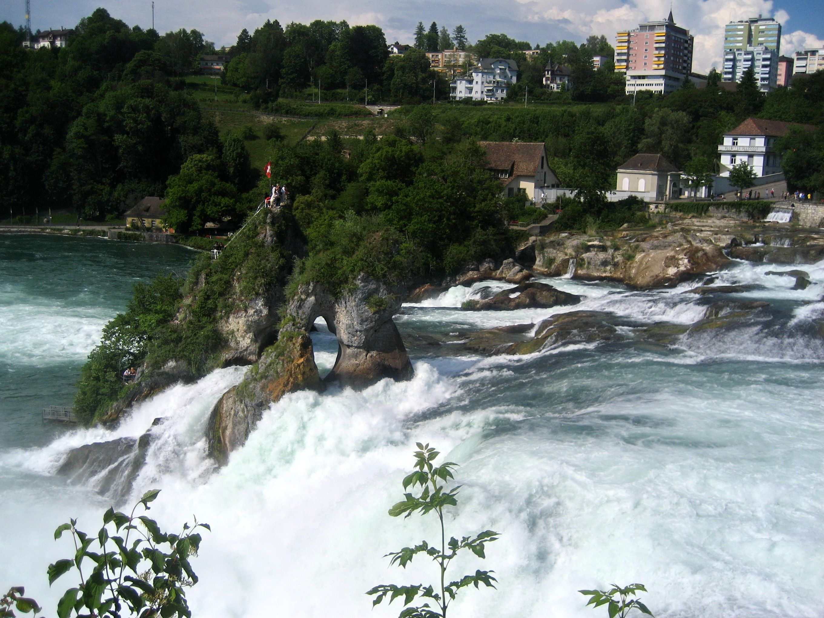 Rhine Falls Germany Places I Have Been Pinterest Europe - Swiss river to the rhine