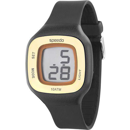 88d7fbb3f7e Relógio Feminino Digital Speedo 65030L0EBNP1 Esportivo Preto Sport Watches