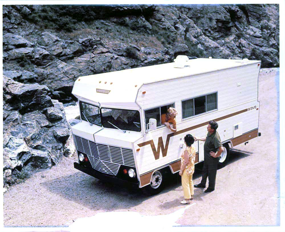 18foot winnebago brave rv 1960s mid pinterest rv