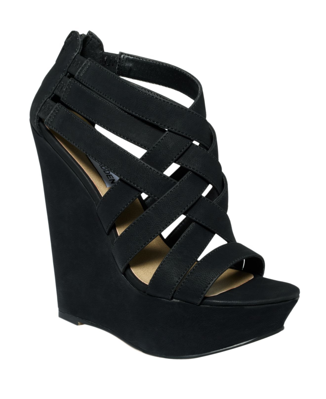 6e47df73952 black wedge | shoes | Shoes, Platform wedge sandals, Wedge shoes