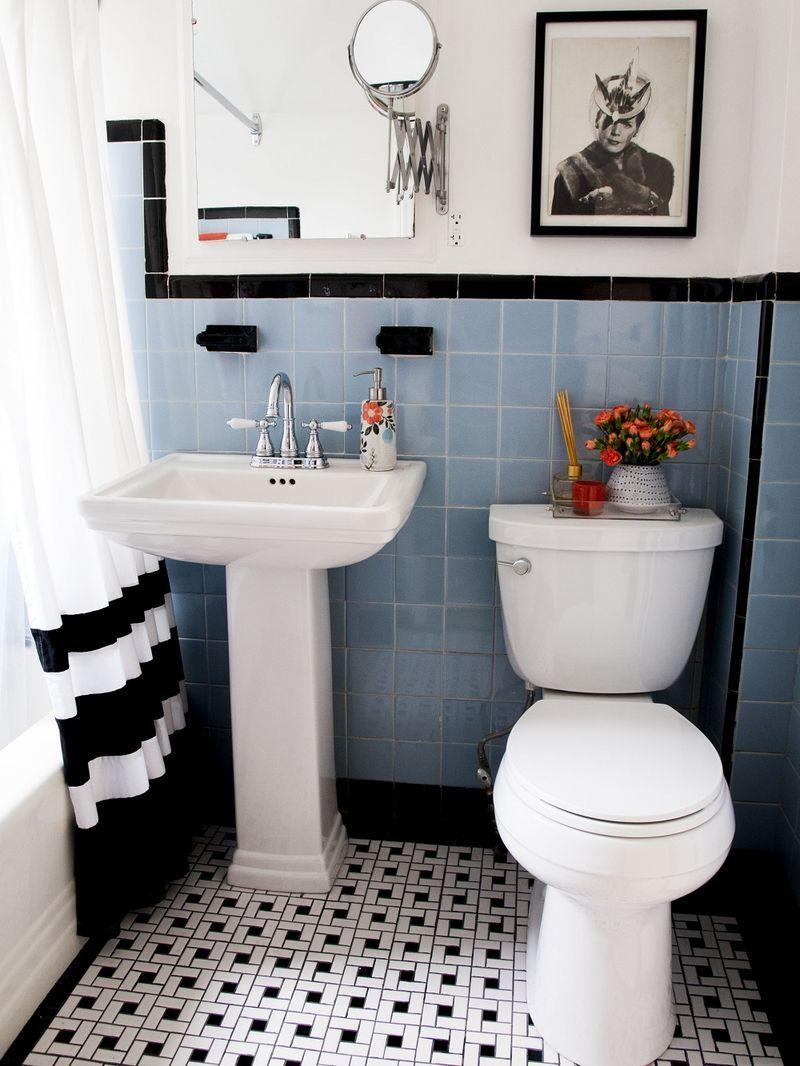 Cenefa y rodapi con color del estampado azulejos for Cenefa para banos