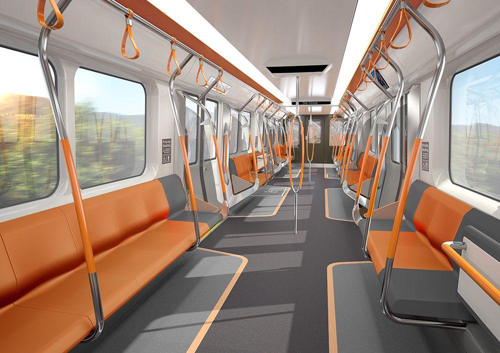 concept metro interior - Google Search   Tren, Diseño ...
