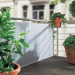 Gardol Comfort Sichtschutz (Silber, 300 x 90 cm) Gardol #bambussichtschutz