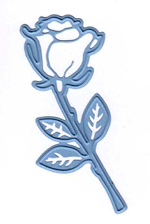 Marianne CREATABLES Die Cutting /& Embossing Stencil ROSEBUD LR0295