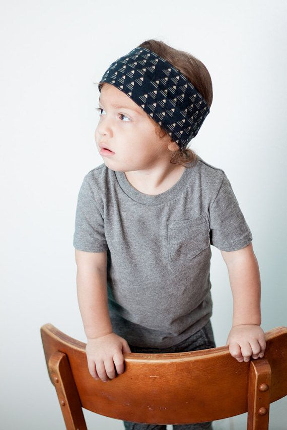 Hearing aid headband  Cochlear implant headband  Boys headband  Gift for baby boy