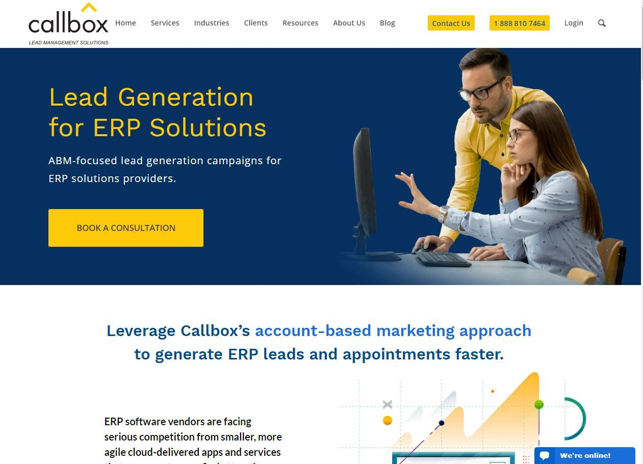 Lead Generation Services for ERP Solutions Lead