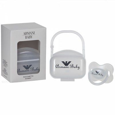 a3c997569 Armani pacifier with case   75.00. Armani pacifier with case   75.00 Baby  Boy ...