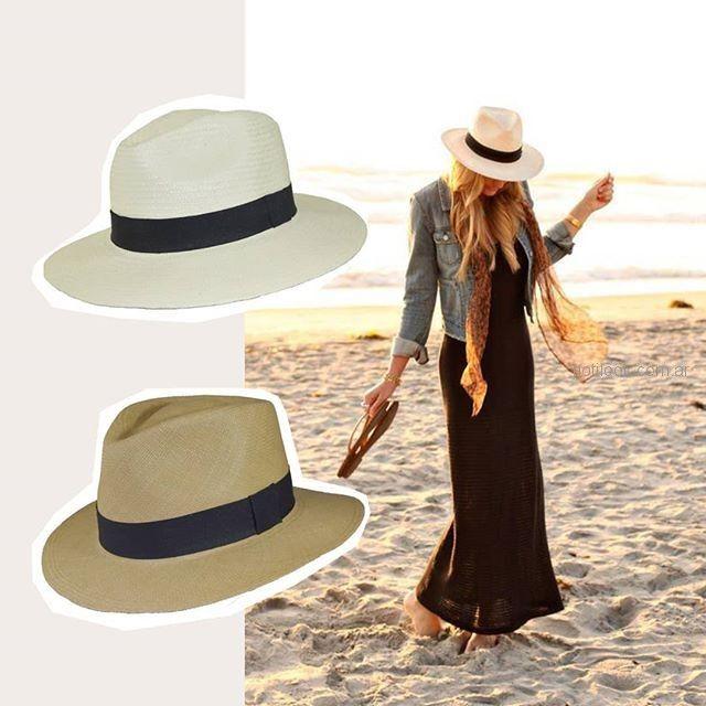 gorro capelina para la playa Compañia de sombreros verano 2019 ... 41fca688892