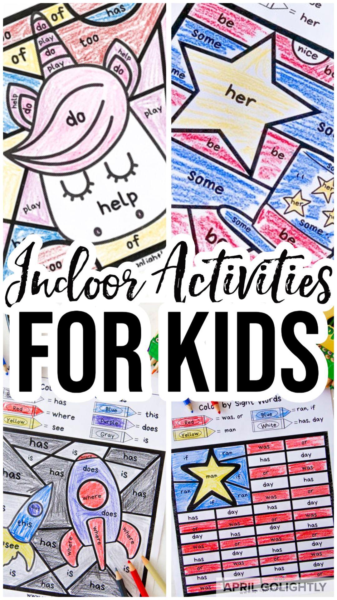 Indoor Activities For Kids In