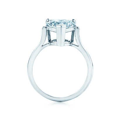 Heart Shape Engagement Rings | Tiffany & Co...........YES