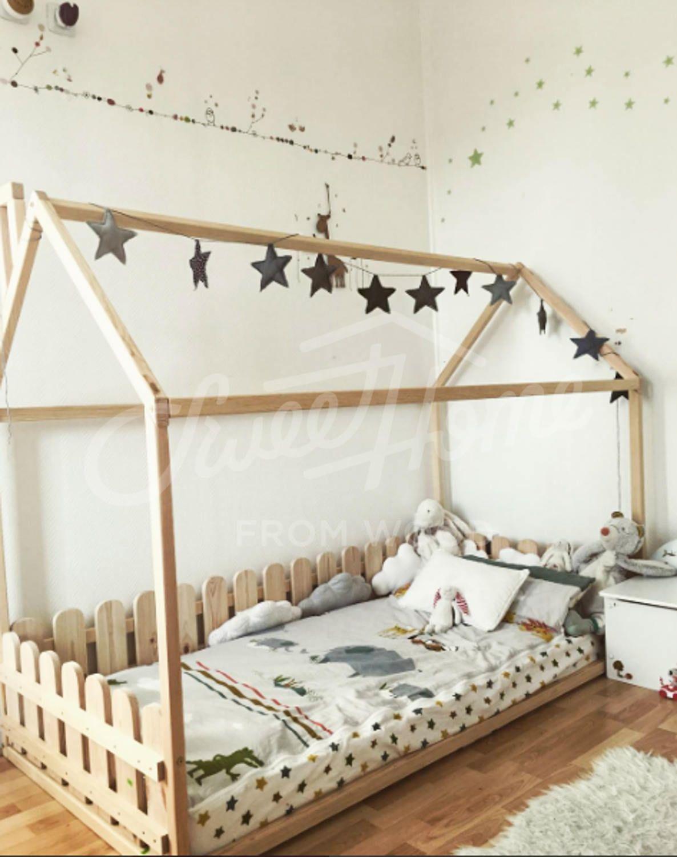 €421.50 - Children #montessori floor bed #montessorifurniture ...