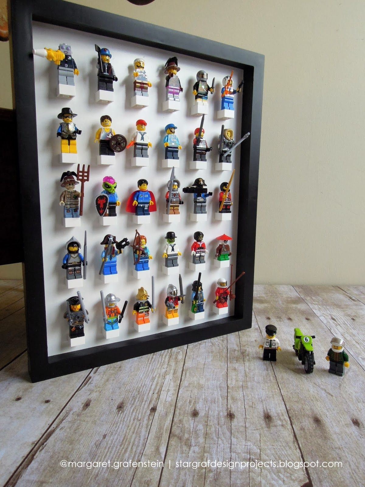 Lego Vitrine Lego Mini Figure Display Case Organize It Pinterest