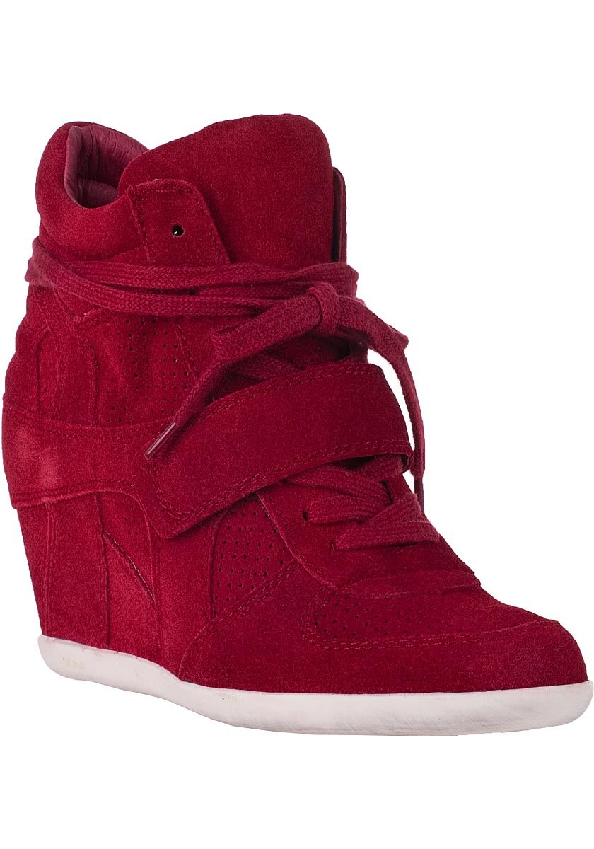 Bowie Wedge Sneaker from Ash: Hybrids rock, and today's featured kicks for  Red Shoe