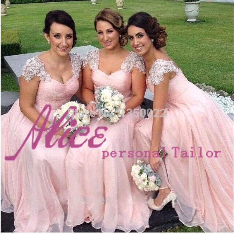 Vestido de madrinha rosa para casamento | Wedding dress, Wedding and ...