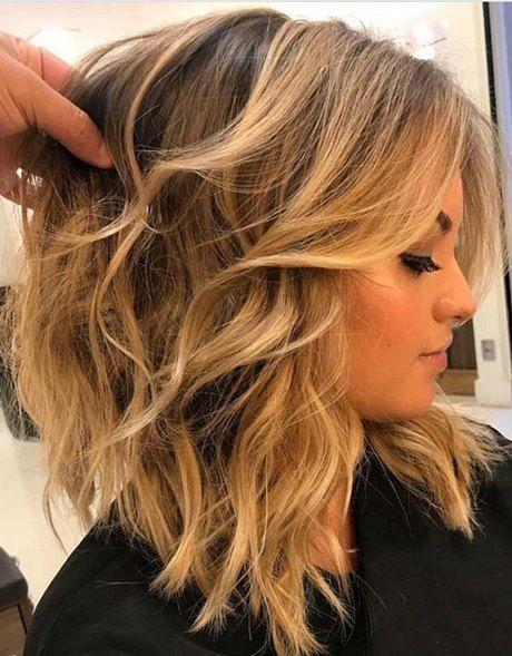 Mid-length hair 2019 (con immagini)   Tagli di capelli ...