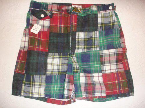e2c8bf12b08f5 Vintage ORVIS Madras Swim Trunks Shorts 32 - NWT | Potential Project ...