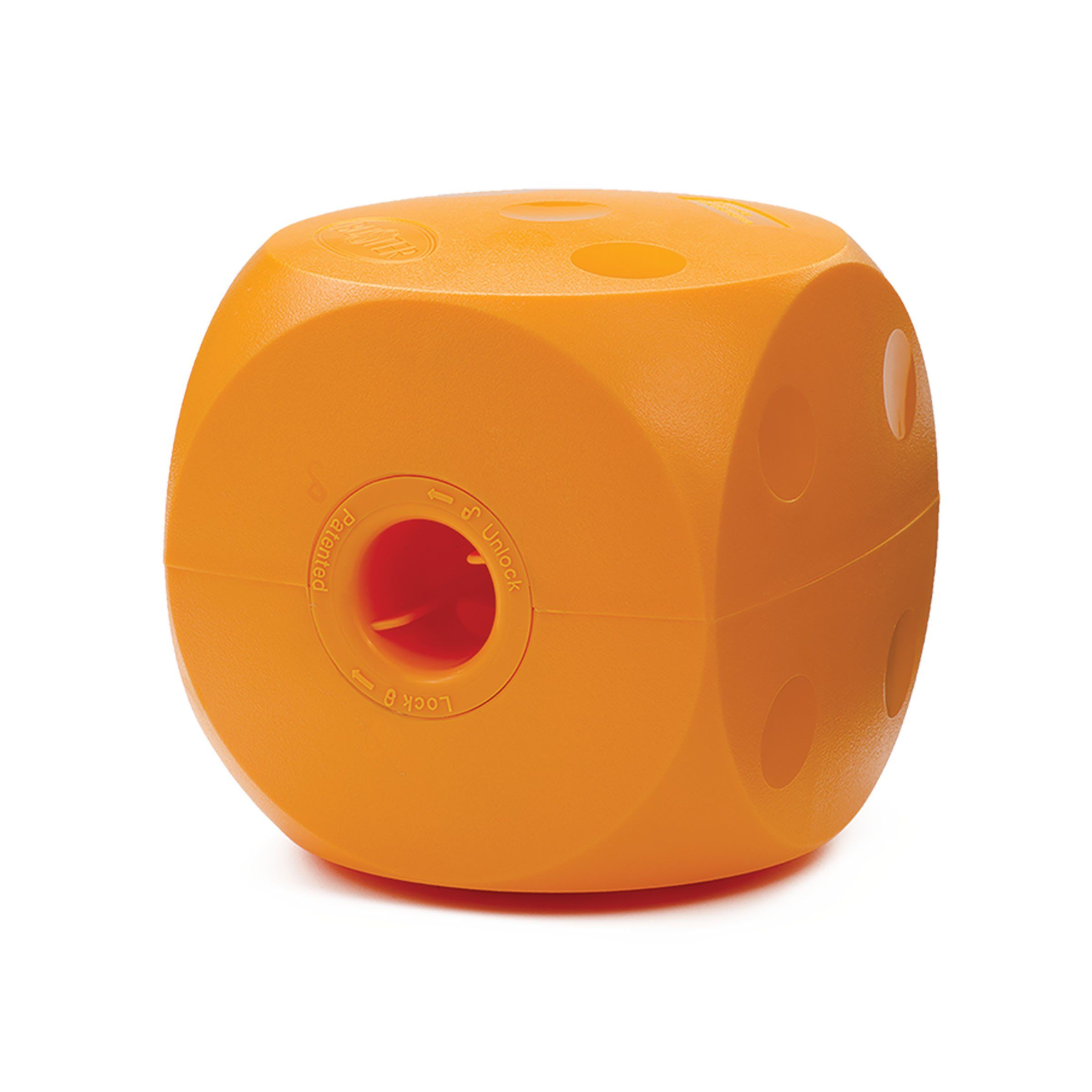 Ourpets Buster Food Cube Interactive Dog Toy Med Colors Vary
