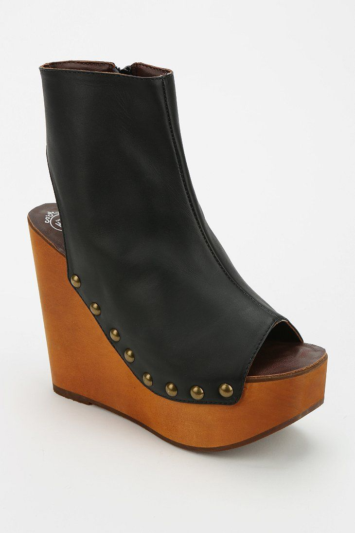 Jeffrey Campbell Snuck Peep-Toe Platform Boot