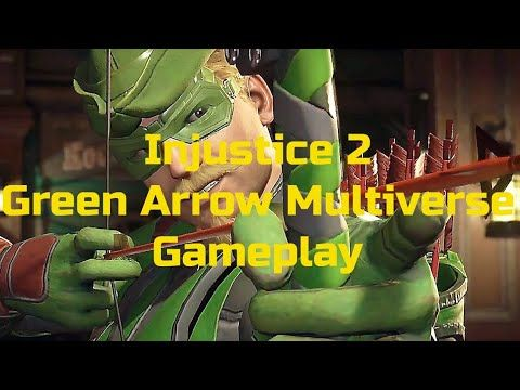 Injustice 2 Green Arrow Multiverse Injustice Green Arrow Injustice 2