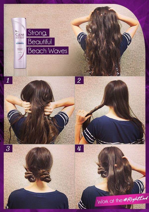 22 No Heat Styles That Will Save Your Hair Hair Styles Long Hair Styles Hair Waves