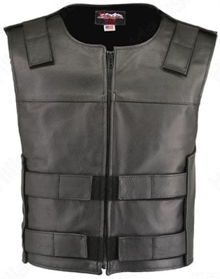 75751d71fa37d Men s Hillside USA Leather Bulletproof Style Motorcycle Vests