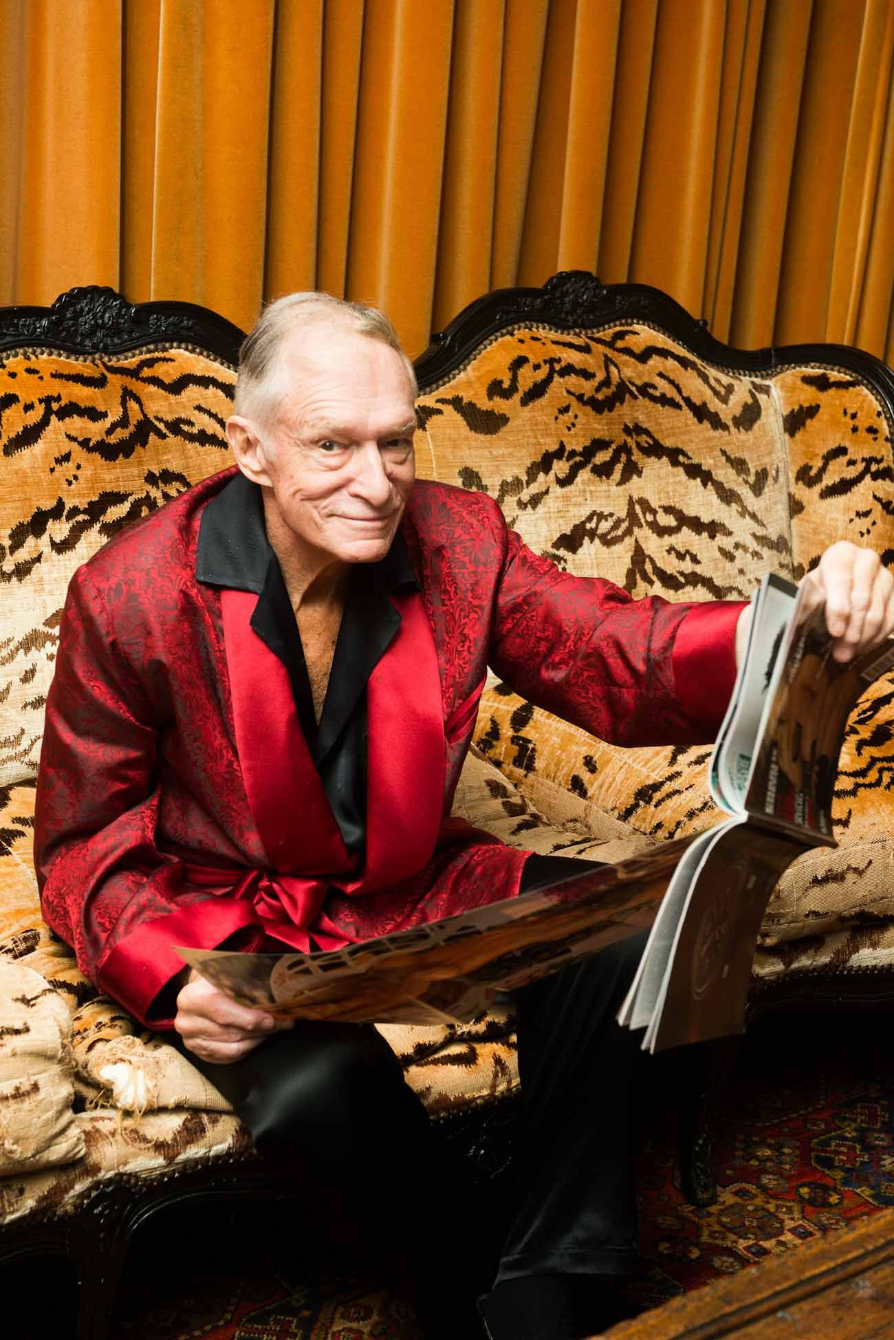 In Memory of Hugh Hefner. Inside The Legendary Playboy and Publisher's Closet -- Playboy Mansion | Coveteur.com