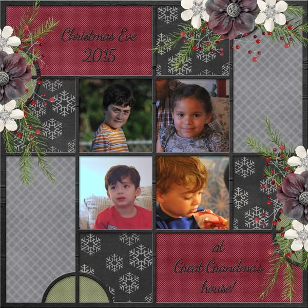 The Digichick :: Templates :: The Photo Project - Festive
