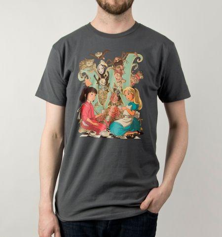 06bd4f49 Wonderlands T-Shirt - Studio Ghibli T-Shirt is $10 today at Busted Tees!