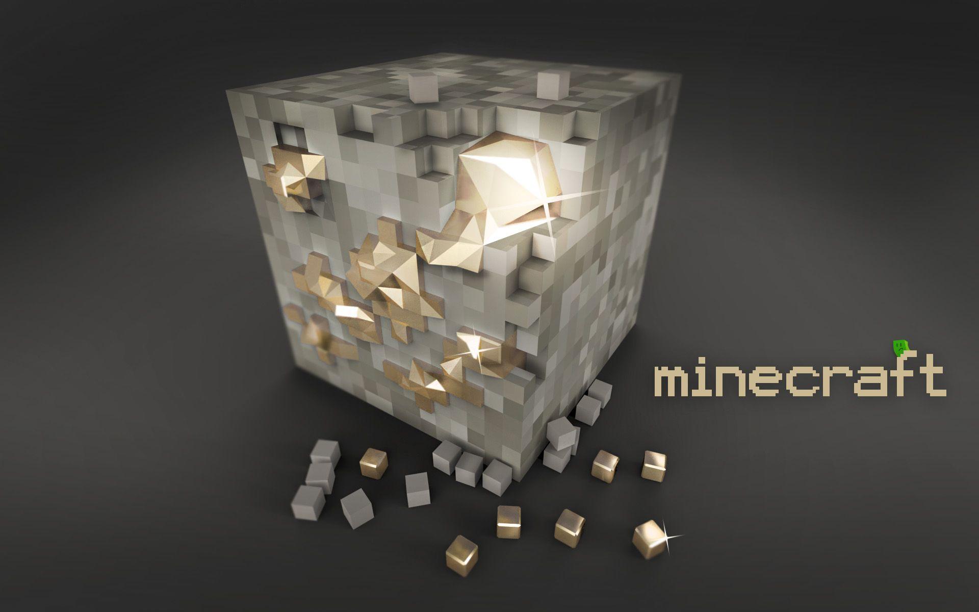 3d Minecraft Diamond Block Wallpaper Minecraft Imágenes