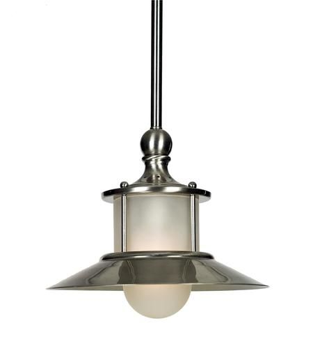 Patriot lighting 8 rae brushed nickel 1 light mini pendant