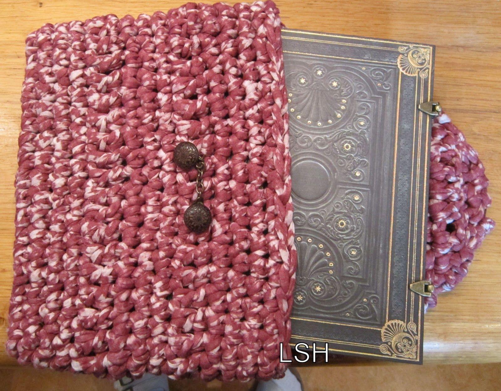 notebook cover met zpaghetti gemaakt door Creasnatertje