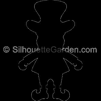 Leprechaun Silhouette Leprechaun Silhouette Clip Art St Patricks Day Cards