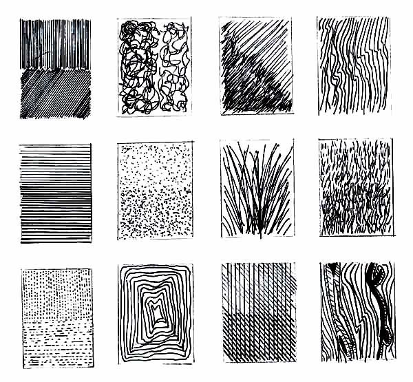Line Drawing Method : Pen strokes styles misc pinterest mark making