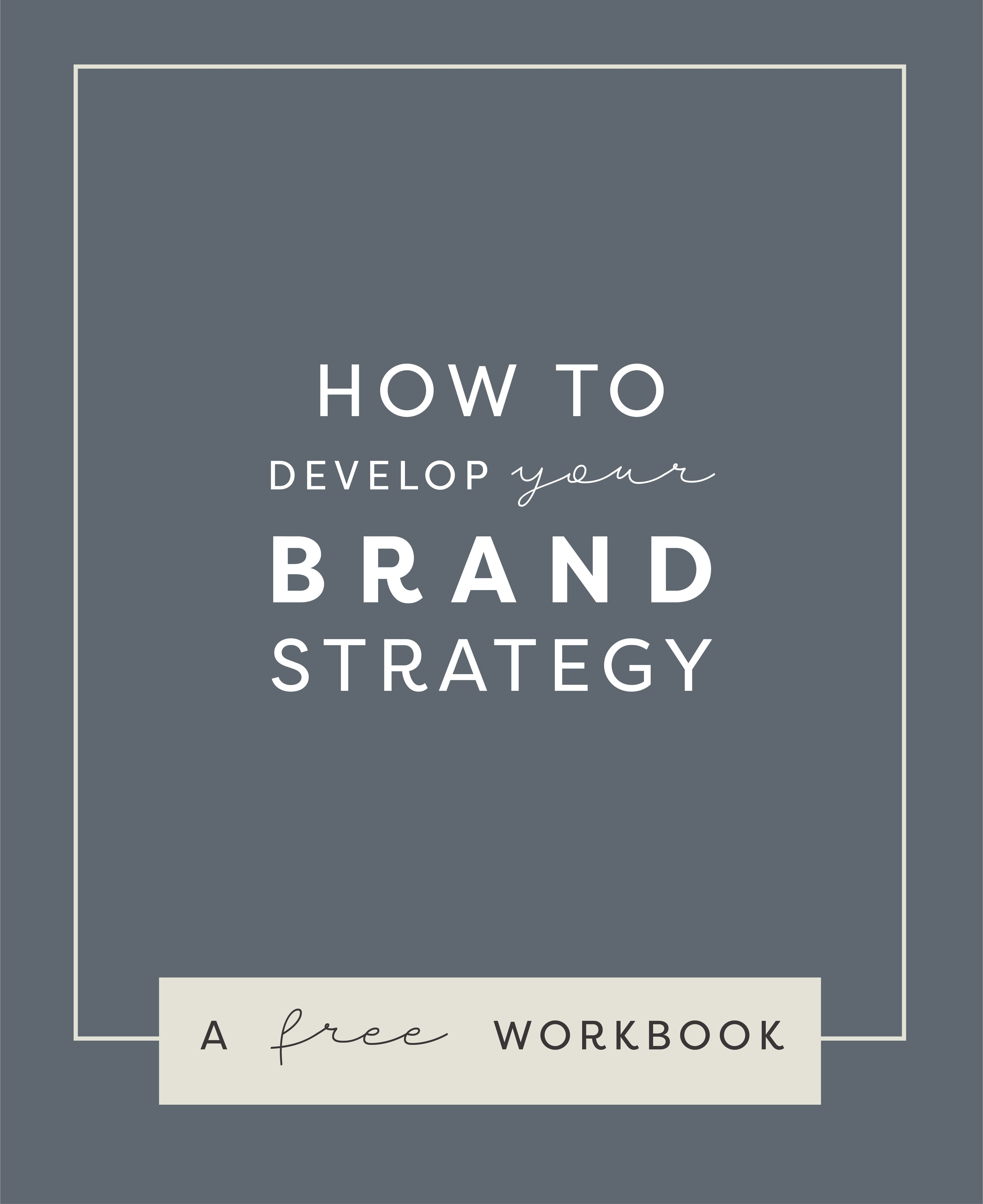 Brand Strategy Brand Strategy Template Branding How To