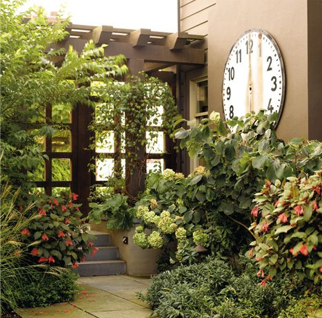 Historic Transitional Home : Entry Courtyard | Courtyard | Pinterest