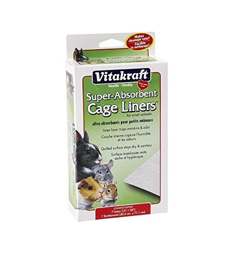 Vitakraft Super Absorbant Cage Liners for Small Animals  7 Pack -- Visit the image link more details. Note:It is affiliate link to Amazon.
