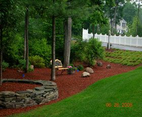 Pin By Russellville Lawn And Landscap On Landscaping Front Yard Landscaping Simple Mulch Landscaping Yard Landscaping Simple