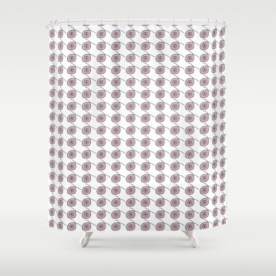 Dots and Dots Shower Curtain by JUSTART on Society6 #shower #home #decor #dots #justart #society6