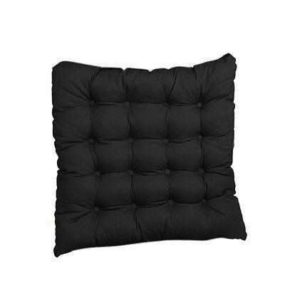 Coussin De Chaise Noir